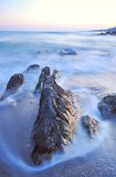 Rosscarbery Bay. Long exposure gives water a transparent effect at Rosscarbery Bay, Co.Cork, Ireland Stock Photo