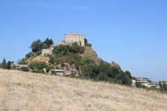 Rossena Castle Stock Photo