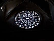 Rossette van Santa Maria del Pi, Barcelona. Stock Fotografie
