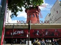 Rossetto di Moulin a Parigi Immagine Stock Libera da Diritti