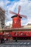 rossetto di Parigi di moulin della Francia Fotografia Stock Libera da Diritti