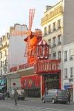 Rossetto Parigi di Moulin Fotografia Stock