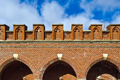 Rossgarten Gate - fort of Koenigsberg Royalty Free Stock Image