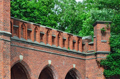 Rossgarten Gate - fort of Koenigsberg. Kaliningrad (former Konig Stock Image