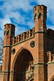 Rossgarten Gate - fort of Koenigsberg. Kaliningrad (until 1946 Koenigsberg), Russia Royalty Free Stock Images