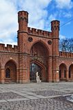 Rossgarten Gate - fort of Koenigsberg. Kaliningrad (until 1946 Konigsberg), Russia Royalty Free Stock Image