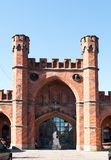 Rossgarten gate. Kaliningrad. Russia Royalty Free Stock Photography