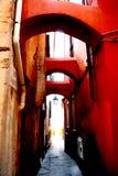 rossi archi Στοκ Εικόνες