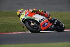 Rossi di Valentino, gp 2012 di moto Immagine Stock Libera da Diritti