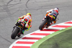 Rossi and Dovizioso Stock Image