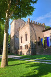 Rossi Fortress of San Secondo Parmense. Emilia-Romagna. Italy. Stock Photography