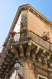 Rossi palace. Lecce. Puglia. Italy. Stock Images