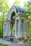The Rossi Pavilion in Pavlovsk Park Royalty Free Stock Photo