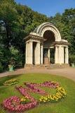 Rossi-Pavillon in Pavlovsk-Park, St Petersburg, Russland Stockfotografie