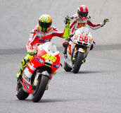 Rossi and Simoncelli stock photos