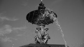 Rossio Fountain royalty free stock photo