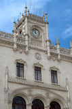 Rossio Lisbon central station Stock Photography