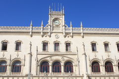 Rossio railway station. In Lisbon, Portugal Royalty Free Stock Photography