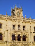 Rossio Railway Station in Lisbon Stock Photos