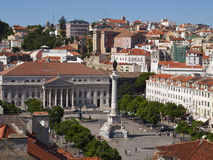 Rossio square Royalty Free Stock Photo