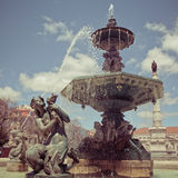 Rossio Square Royalty Free Stock Images