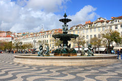 Rossio Square Stock Photos