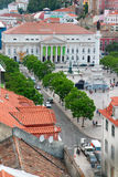 Rossio square, Lisbon Royalty Free Stock Photos