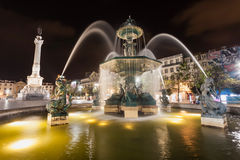 Rossio Square Stock Image