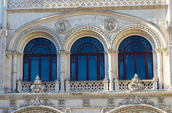Rossio Station in Lisbon Stock Photos