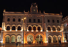 Rossio Train Station Royalty Free Stock Photography