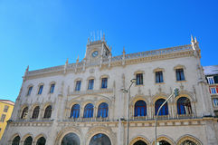 Rossio Train Station Stock Image
