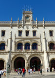 Rossio Train Station, Lisbon, Portugal Royalty Free Stock Images