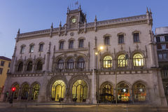 Rossio Train Station in Lisbon Royalty Free Stock Photography