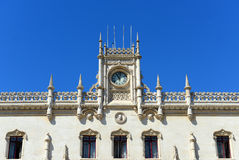 Rossio Train Station, Lisbon, Portugal Stock Photography