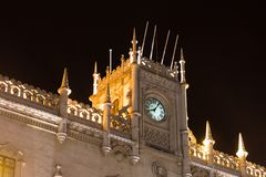 Rossio train station in Lisbon, Portugal. Stock Photos