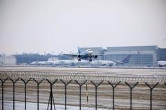 Rossiya - русский аэробус A319-111 VQ-BAS авиакомпаний Стоковое Изображение RF