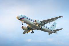 Rossiya - русский аэробус A319-111 VQ-BAV авиакомпаний Стоковые Фото