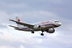 Rossiya Airbus ACJ319 Image libre de droits