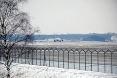 Rossiya - lignes aériennes russes Airbus A319-111 VQ-BAS Photos stock