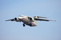 Rossiya - lignes aériennes russes Antonov An-148-100B Photos libres de droits