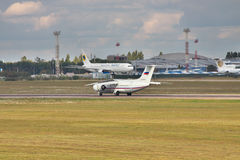 Rossiya - Russian Airlines An-148 Royalty Free Stock Images