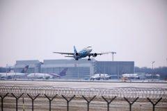 Rossiya - Russische Luchtvaartlijnenluchtbus A319-111 vq-BAS Royalty-vrije Stock Afbeelding