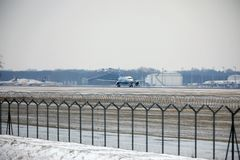 Rossiya - rysk flygbolagflygbuss A319-111 VQ-BAS Royaltyfria Bilder