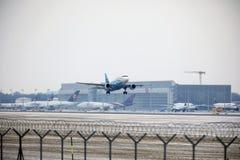 Rossiya - rysk flygbolagflygbuss A319-111 VQ-BAS Royaltyfri Bild