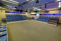 Rossiya Segodnya Russian news agency conference hall interior Royalty Free Stock Photos