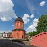 Rossiya V Vysokopetrovsky kloster i Moskva Arkivfoton