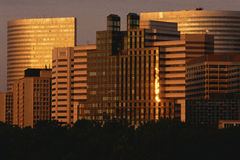 Rosslyn buildings Royalty Free Stock Photography