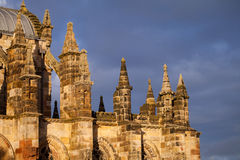 Rosslyn Chapel Detail Royalty Free Stock Images
