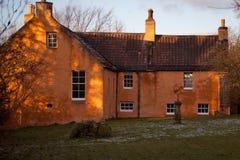 Rosslyn Chapel Glen Castle house Royalty Free Stock Photos
