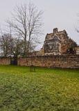 Rosslyn Chapel. UK, Scotland, Midothian, Edinburgh Area, Roslin, View of the Rosslyn Chapel Stock Photo
